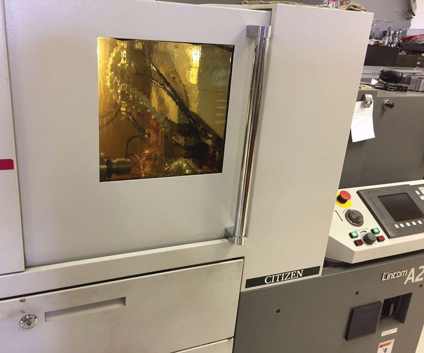 machine in-process