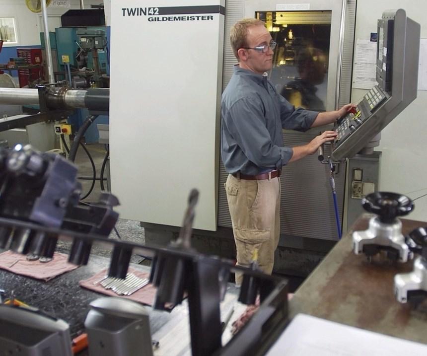 operating a CNC