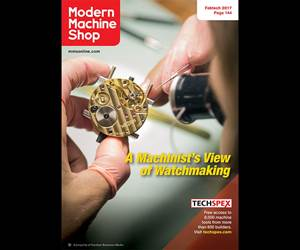 A Machinist's View of Watchmaking: November 2017 Digital Edition