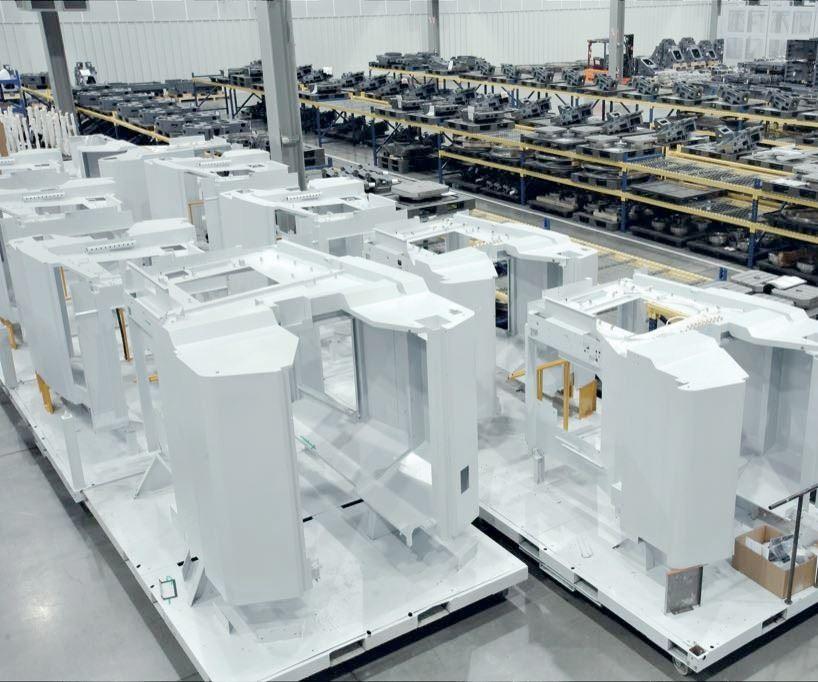DMG MORI's North American manufacturing facility