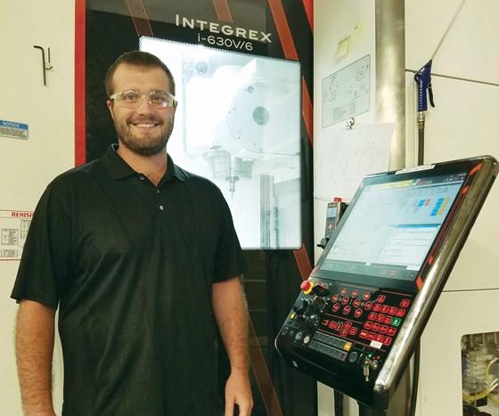 manufacturing engineer Shawn Eisenschenk
