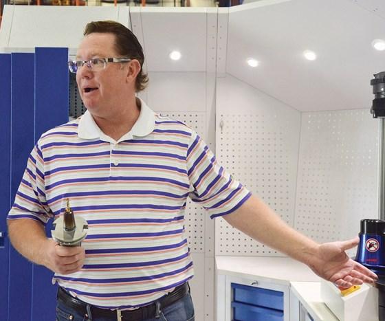 Kevin Febrey, owner of Napoleon Machine