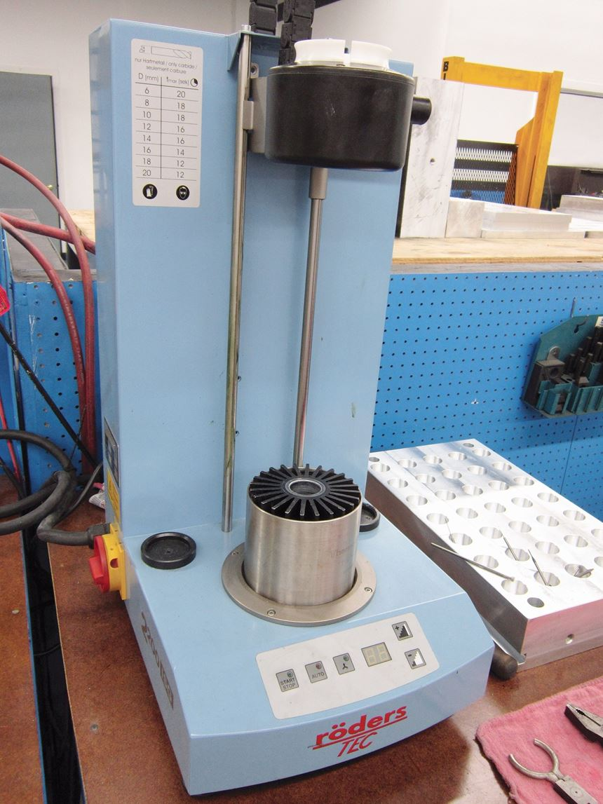 shrink fit tooling apparatus