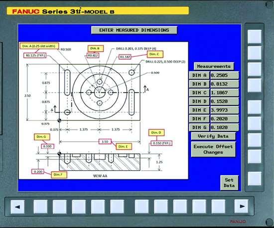 FANUC Picture CNC program