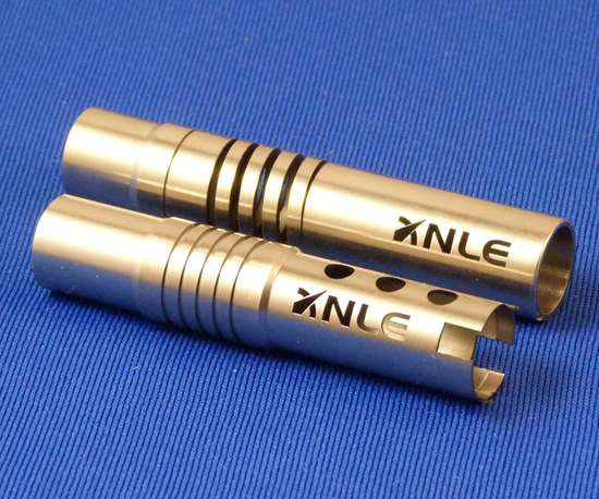 example part produced on LaserSwisss Swiss-type lathe
