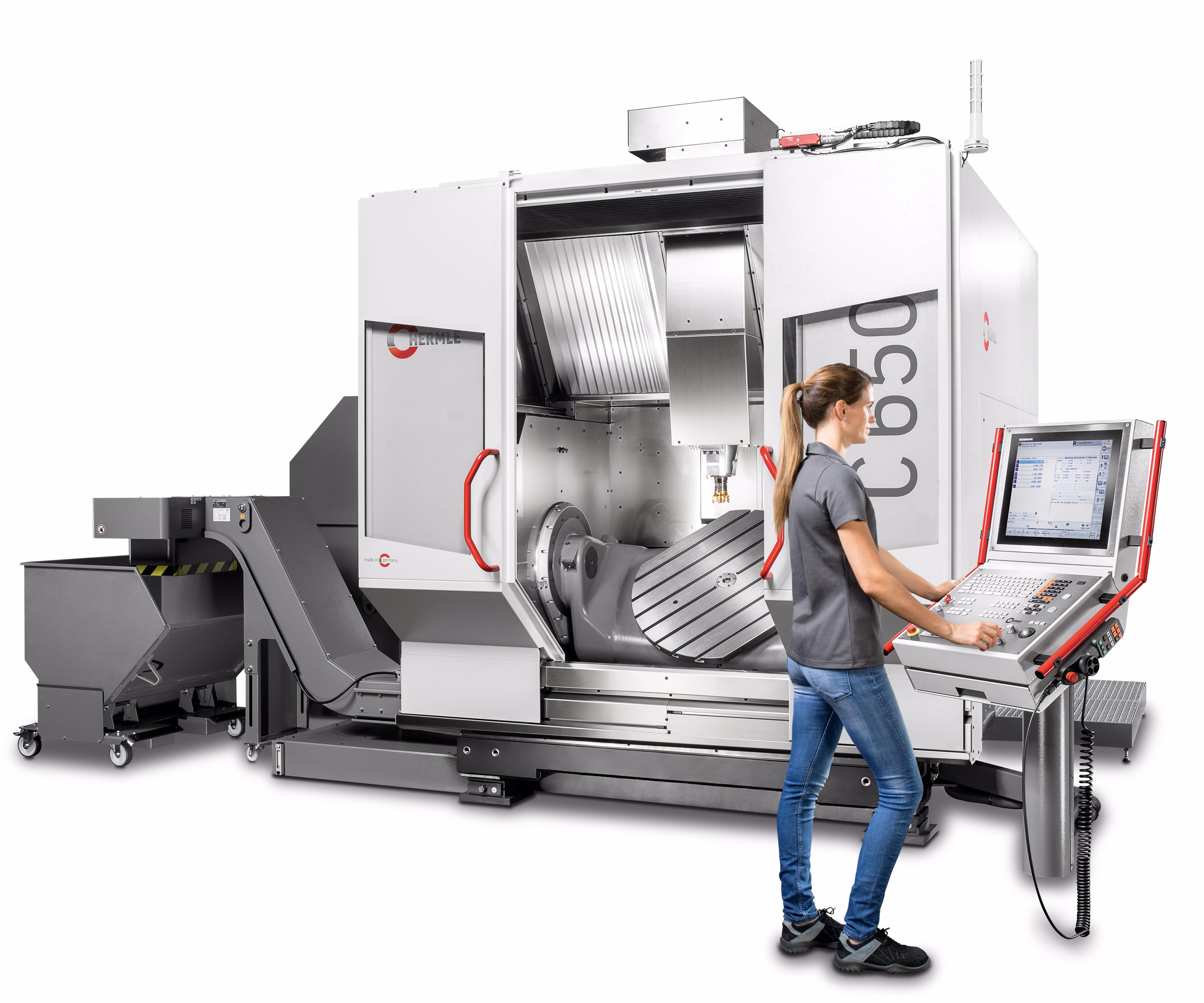 Hermle's C 650 five-axis machining center