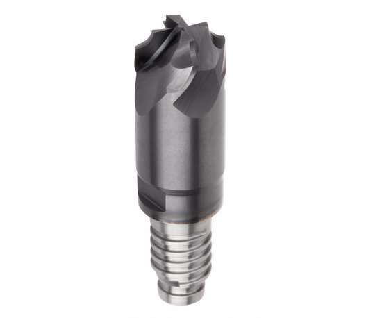 Kennametal Duo-Lock modular end mill