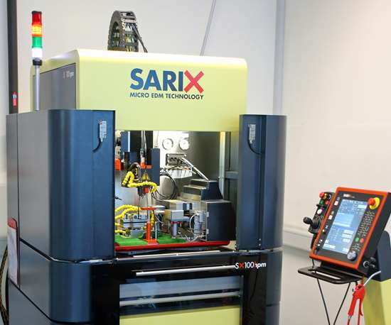 Sarix SX-100 micro-EDM