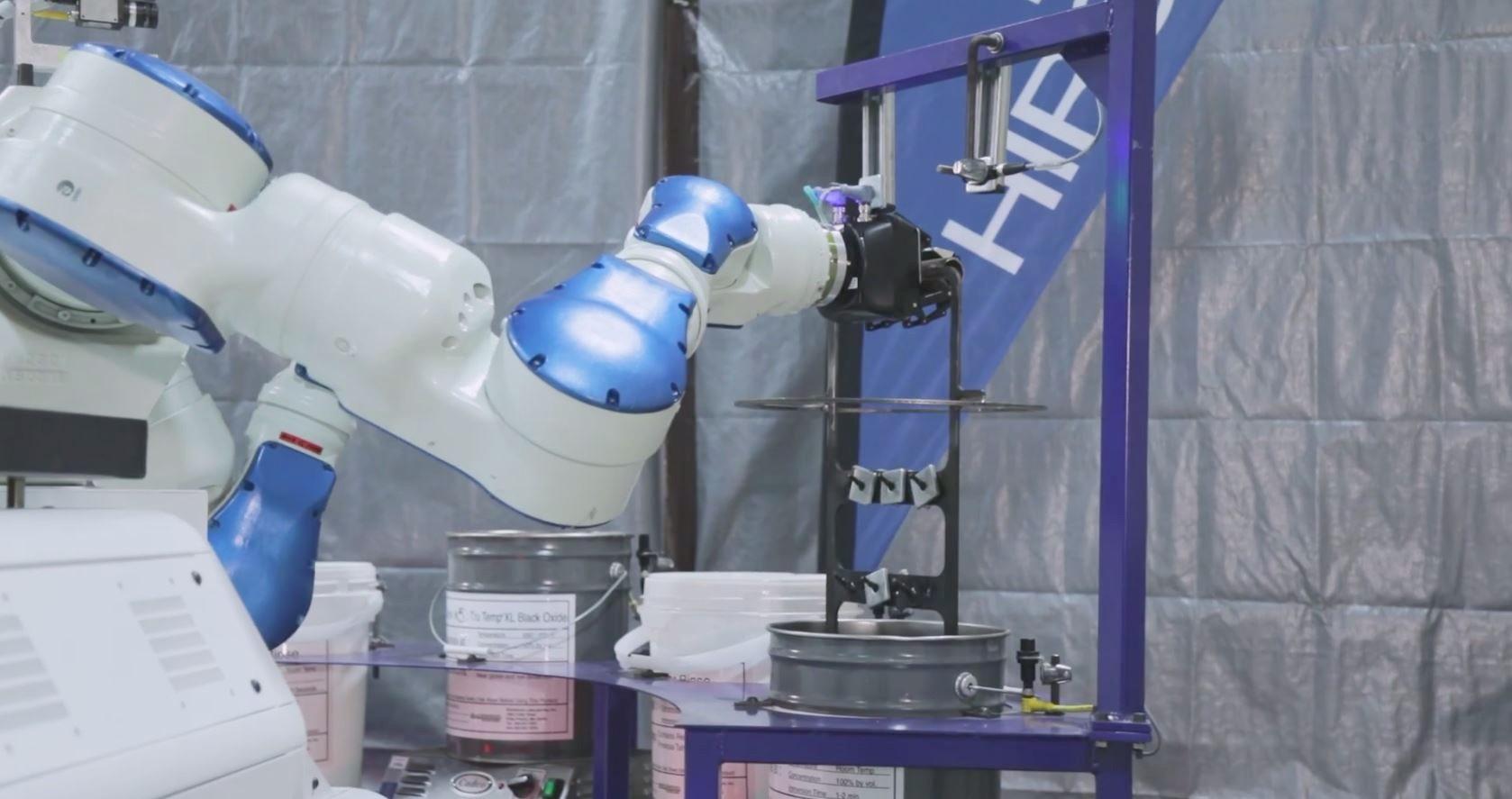 Yaskawa Motoman robot arm