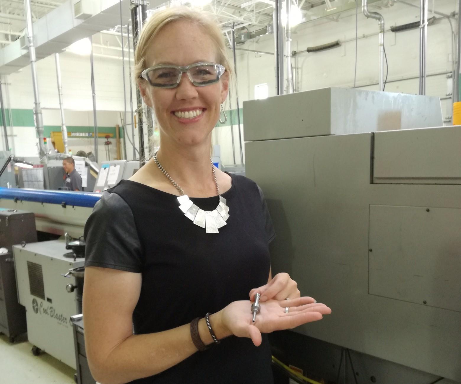 Vice President Vanessa Malo-Kurzinski, Swiss Automation