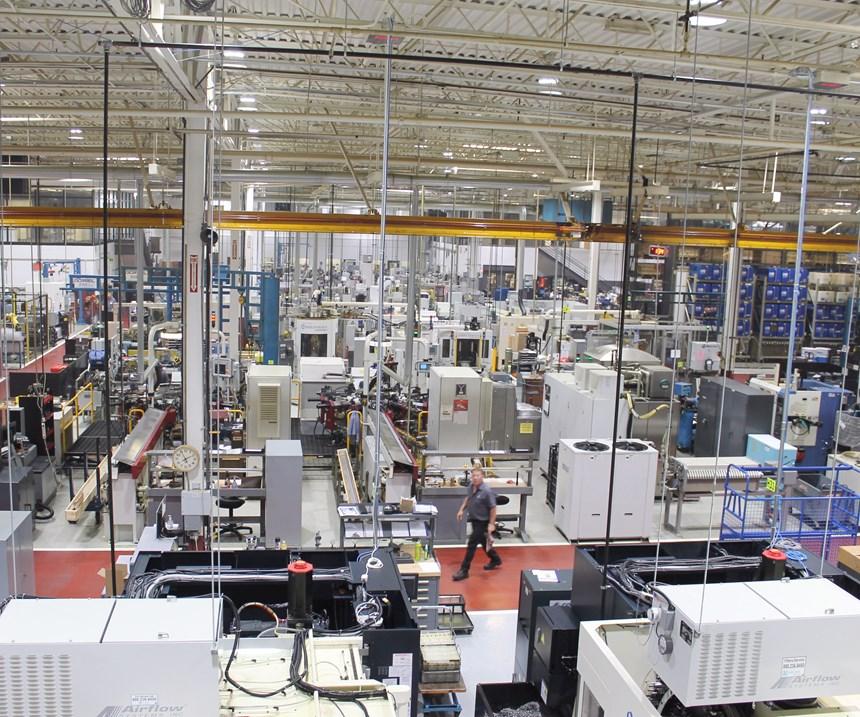 robotic cells at Camcraft