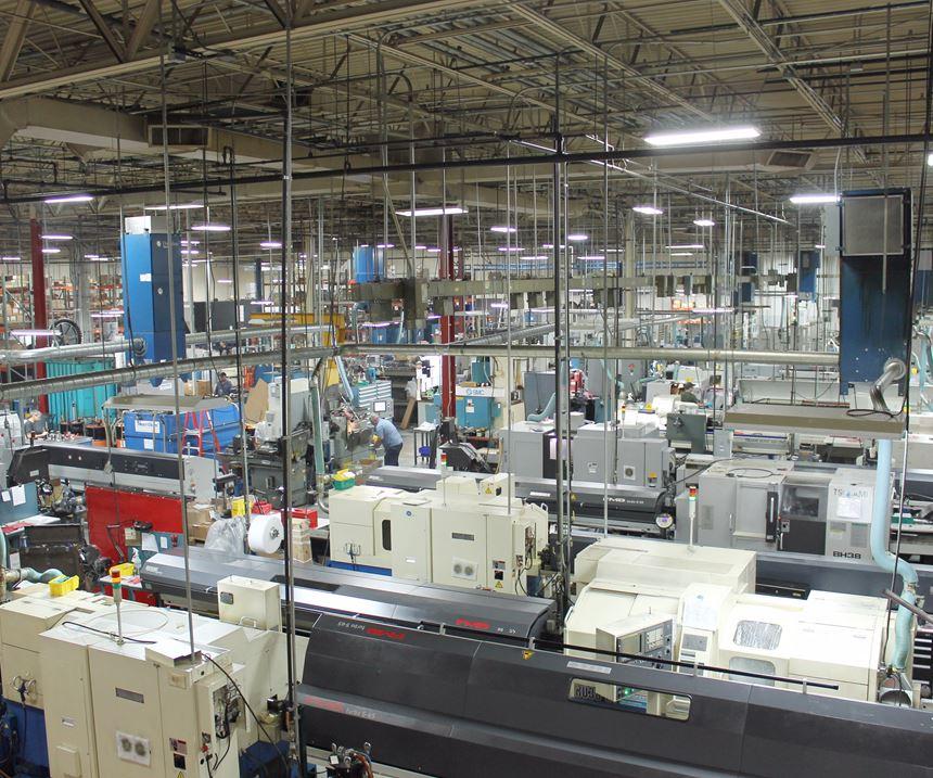Prince Industries' shop floor