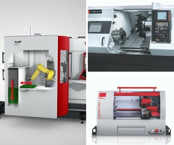 machine tool collage