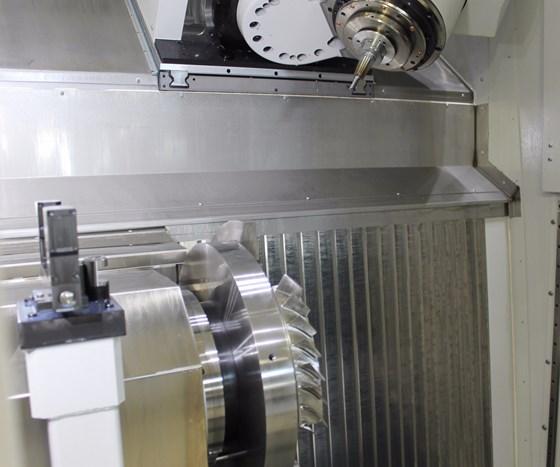machining blisks