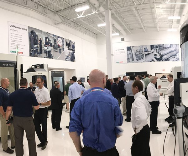 Open house for DMG MORI Ohio tech center