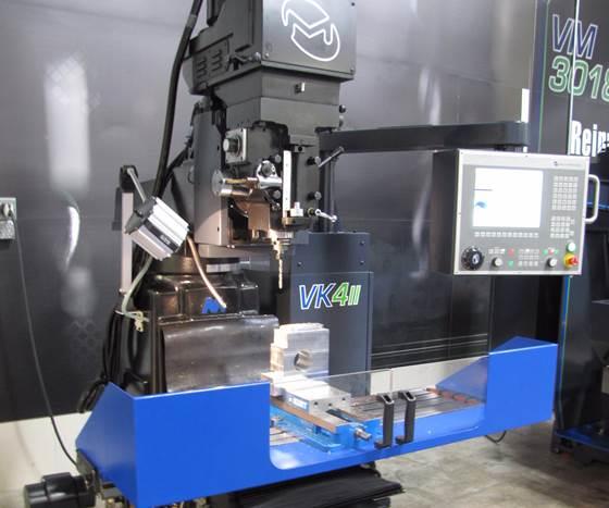 Milltronics VK411 CNC knee mill