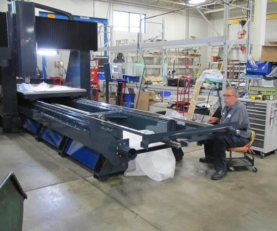 Milltronics BR8100IL high-speed bridge mill