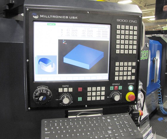 Milltronics 9000 CNC