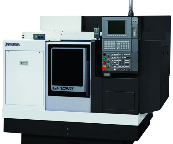 Okuma America Corp.'s GI-10NII CNC grinder