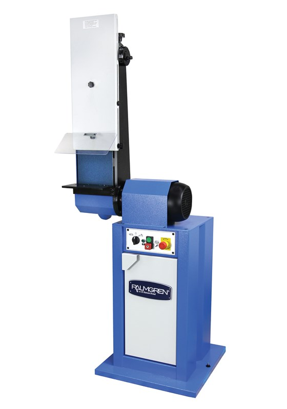 Palmgren Steel Products Inc.'s two-speed belt grinders