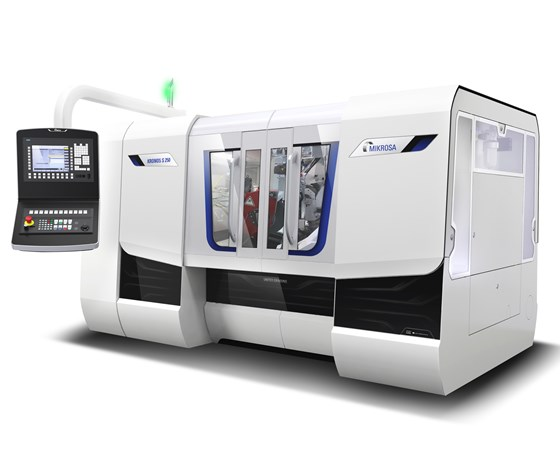 United Grinding's Mikrosa Kronos S 250 centerless grinding machine