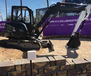 Video: Functional Excavator Features 3D-Printed Components