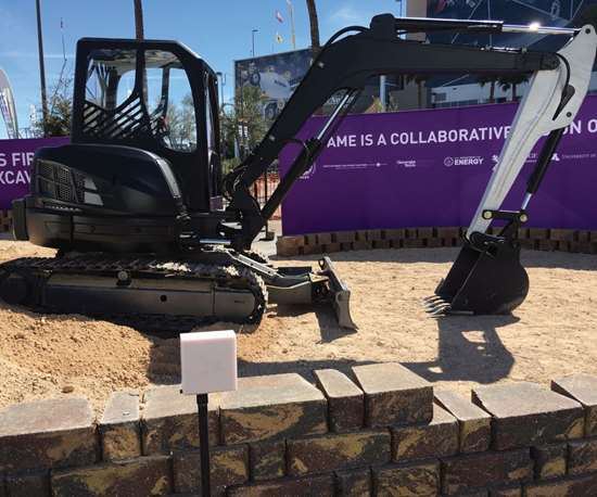 Project AME 3D-printed excavator