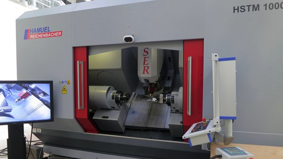 Hamuel hybrid additive manufacturing machining center