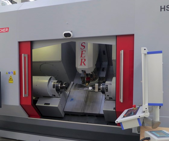 Hamuel hybrid additive manufacturing machining center