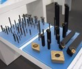 Dormer-brand solid tools and Pramet-brand indexables display