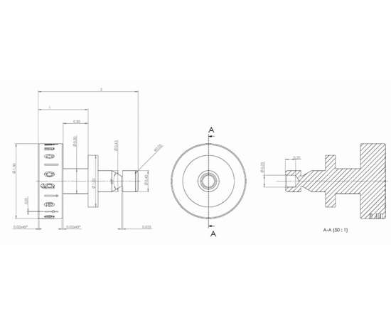 drawing of micro component
