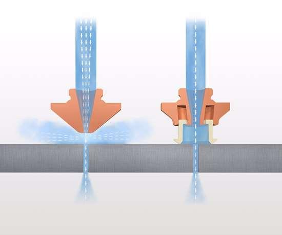 Highspeed Eco nozzle illustration