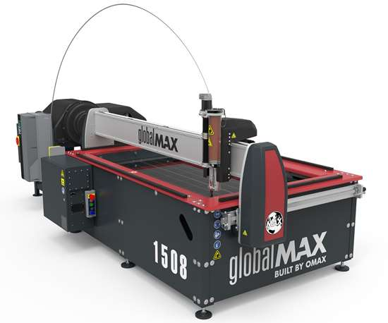 Omax GlobalMax Jet Machining Center