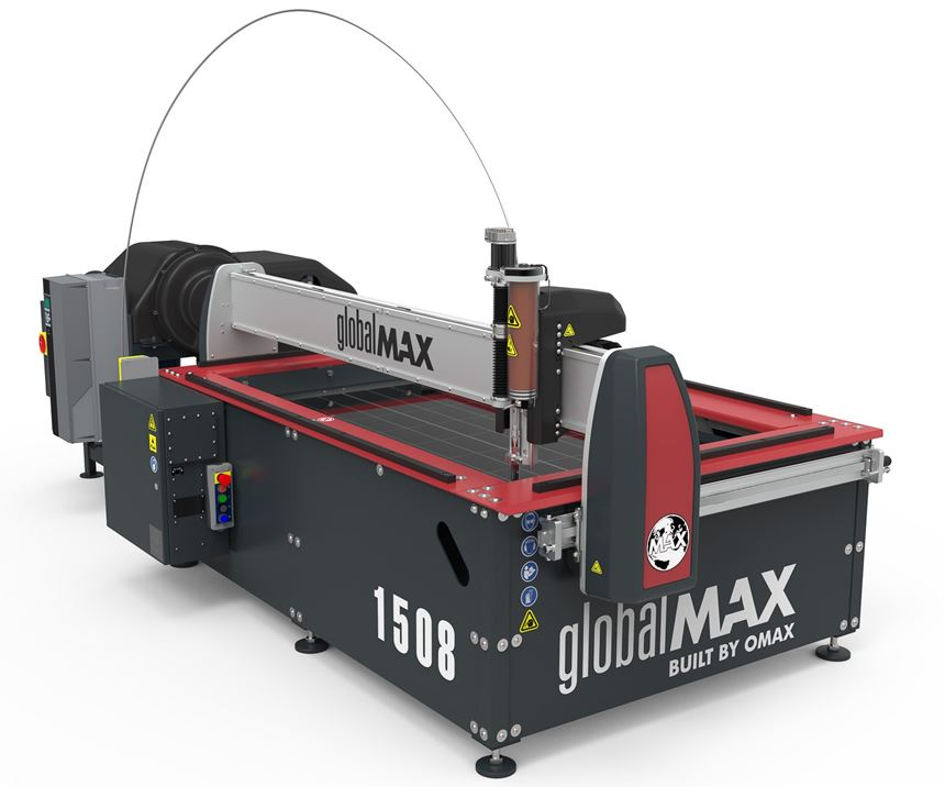 Omax GlobalMax Jet Machining Center