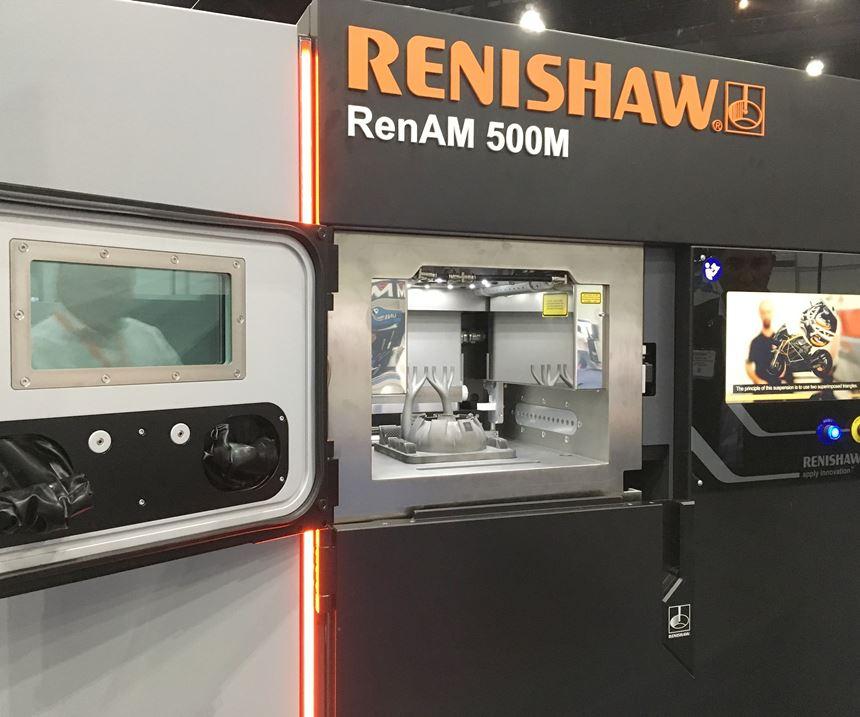 Renishaw RenAM 500 metal additive manufacturing machine