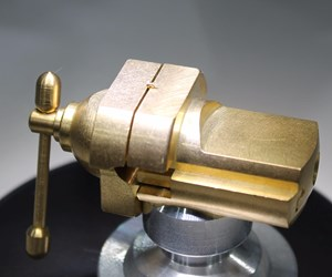 machining a micro part