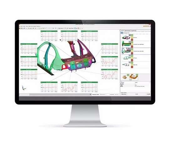 screenshot of eMMa software