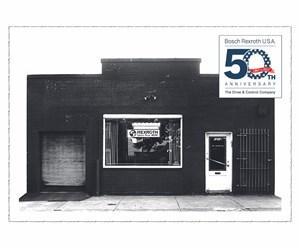 Rexroth's original facility in 1967