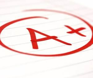 test score A+