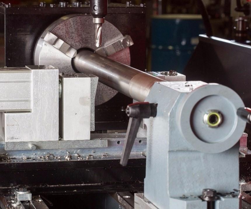machining pipe