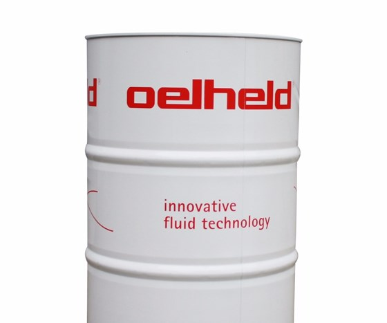 Oelheld barrel of cutting fluid