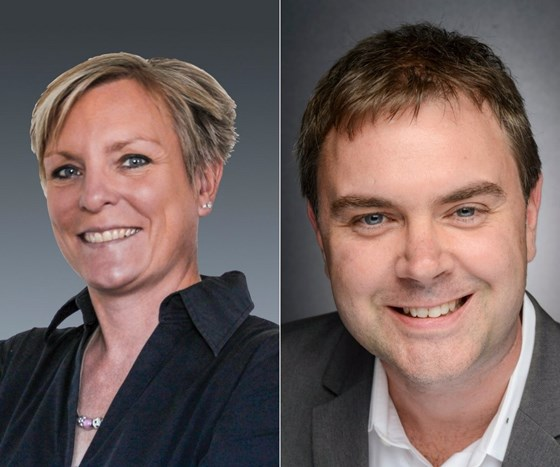 Barbara Schulz and Brent Donaldson