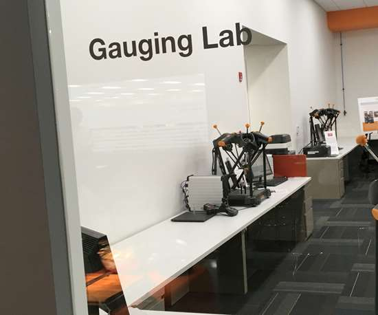 Renishaw's Gauging Lab in Chicago, Illinois
