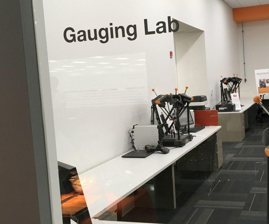 Renishaw's Gauging Lab in Chicago, Illinois