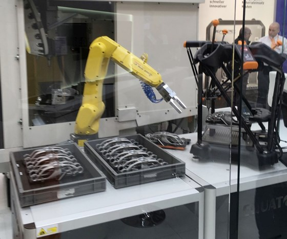 obot-loaded use of the Equator from Renishaw