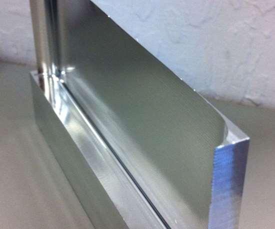RobbJack end mill cuts thin walls