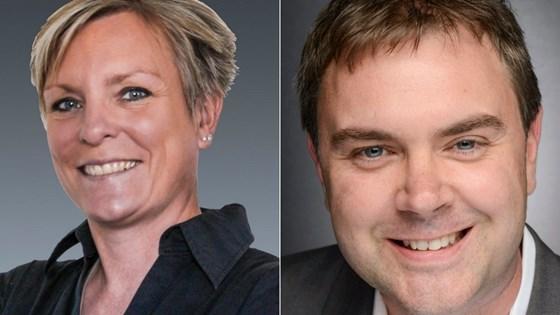 Brent Donaldson, senior editor, and Barbara Schulz, European correspondent, of Additive Manufacturing