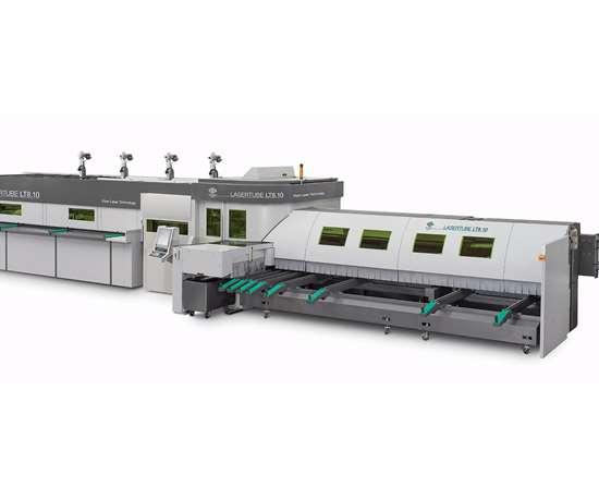 LT8.10 fiber laser tube cutting system