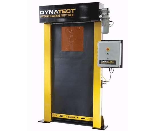 Automated machine safety door