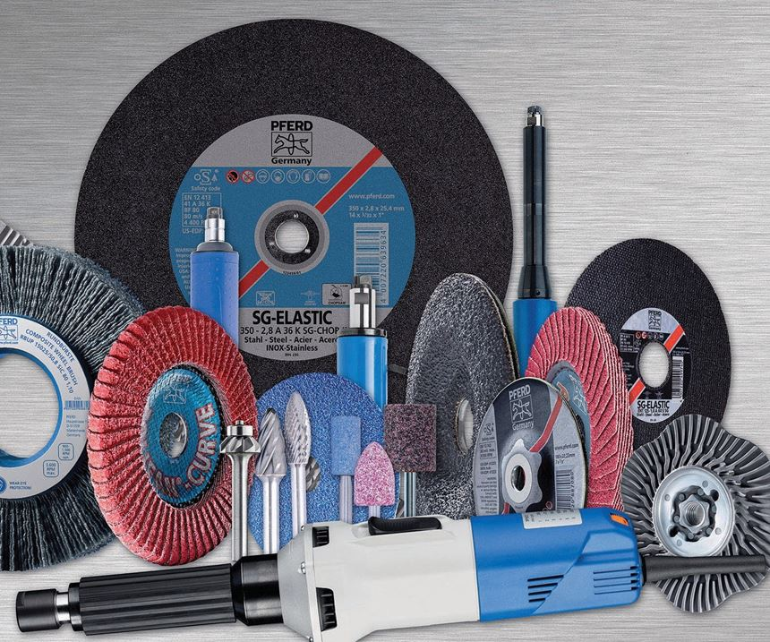 Metal cutting and finishing products